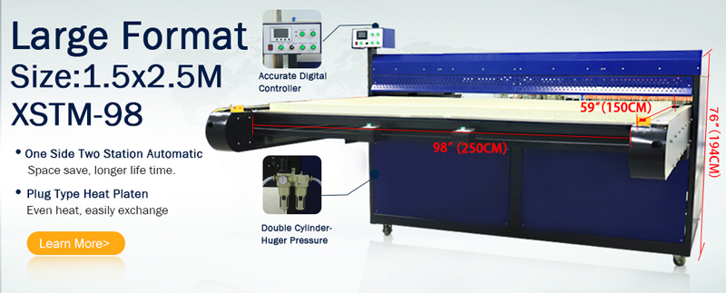 XSTM-98 Heat transfer machine