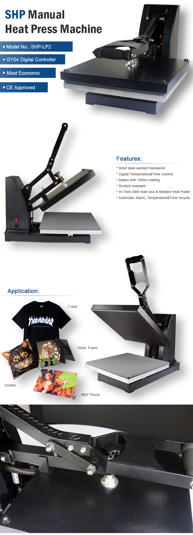 HEAT PRESS FACTORY
