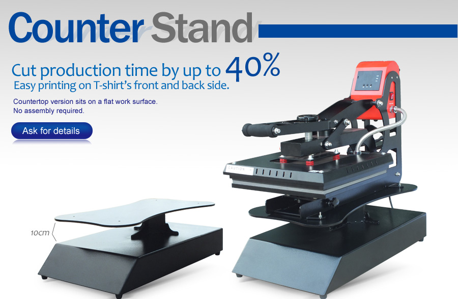 Counter Stand For Heat Press Microtec S Leading