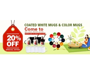 11oz Ceramic Blank White Sublimation Mug Promotion
