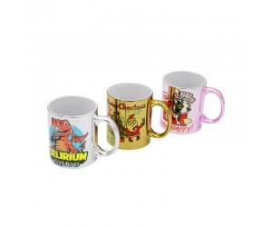 11oz Sublimation Electroplating Mug\Ceramic