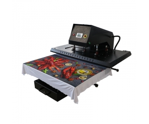 APHD-43(GY06) Pneumatic Large Format Heat Press with Pluggable Heat Platen