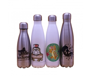 Bowling-Shaped Vakuum-Sublimation Flasche