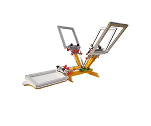 Desktop Micro Registration 4 Color 1 Station Screen Printing Machine