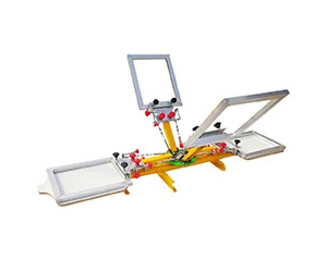 Screen Printing Machine with Micro Registration Device