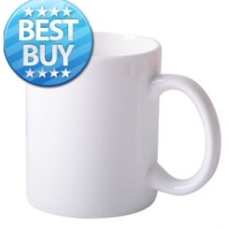 China 11oz White Sublimation Mug factory