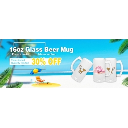 China 16oz mattierte Sublimations-Glas-Bierkrug-Fabrik