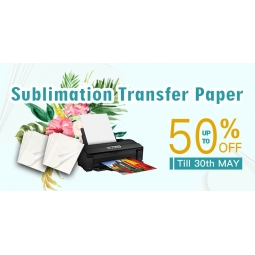 China A3 A4 Sublimation Transfer Paper Promotion in May factory
