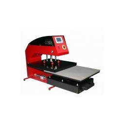 China APD Pneumatic High Pressure Draw-out Heat Press factory