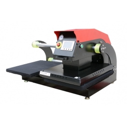 China APDS Pneumatic High Pressure Draw out Heat Press factory