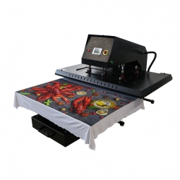 China APHD-43(GY06) Pneumatic Large Format Heat Press with Pluggable Heat Platen factory