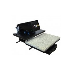 China APHD Pneumatic Large Format Draw-out Heat Press factory