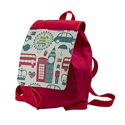 Sublimation Children's Rucksack (Canvas + Polyester)
