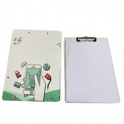 China FRP Sublimation Plastic Clip Board factory