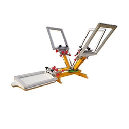 Кита Desktop Micro Registration 4 Color 1 Station Screen Printing Machine завод