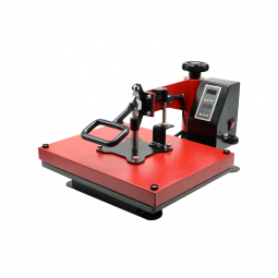 China Einfache Swing Away Heat Press Machine SSH-1215-Fabrik