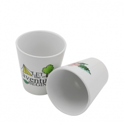 China Sublimation Ceramic Flowerpot factory
