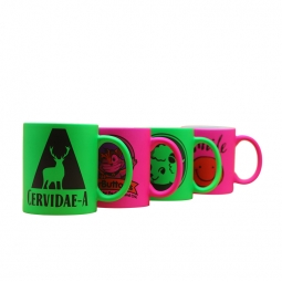 China Sublimation Fluorescent Mug factory