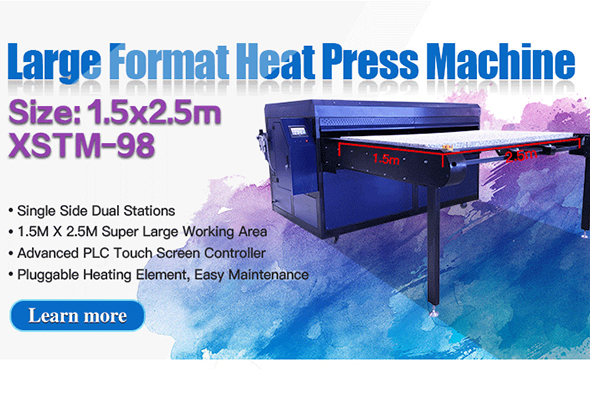 XSTM-98 Large Format Heat Press Machine