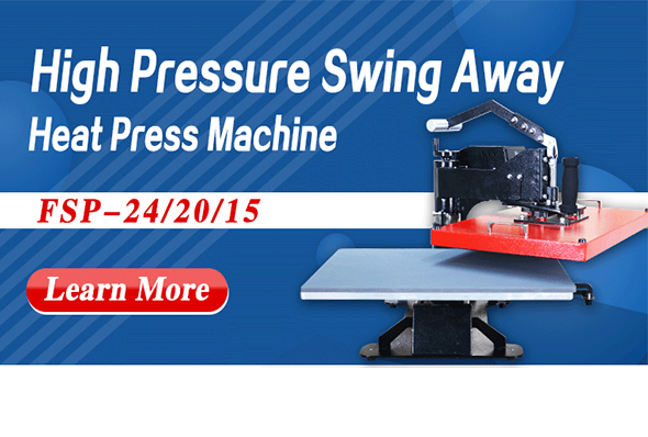 High Pressure Swing Away Heat Press Machine
